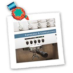 Espresso machine, café, Stockholm. Sweden - EU28 PKA0077 - Per Karlsson - 10x10 Inch Quilt Square by 3dRose LLC