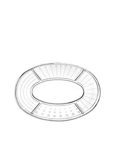 """Mikasa Cheers 5-Section 15.75""""Oval Platter"""