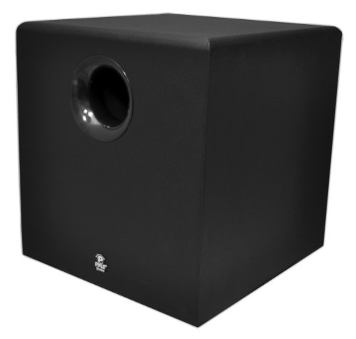 Pyle Home Pdsb10A 10-Inch 100-Watt Active Powered Subwoofer For Home Theater