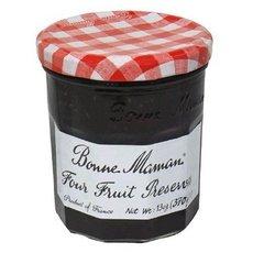 Bulk Save Bonne Maman Four Fruit Preserves 6 to 24 packs each 13Oz by Bonne Maman