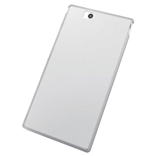 ELECOM Xperia Z Ultra SOL24 SGP412JP シリコンケース クリア 保護フィルム付 PA-SOL24SCCR
