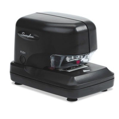 Swingline Products - Swingline - 690e High-Volume Electric Stapler, 30 Sheet Capacity, Black - Sold As 1 Each - Delivers speed and exceptional stamina. - Patented cartridge technology delivers 5,000 staples without reloading. - Adjustable 1