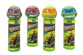 Teenage Mutant Ninja TurtlesTM Bubble Solution with Wand Michelangelo