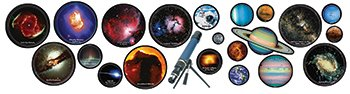 Eureka Hubble Images Decorative Bulletin Board Sets front-994824