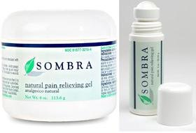 Sombra Pain Relieving Gel 3 oz. Roll-On