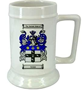 Armon Family Crest Stein / Armon Coat of Arms Stein