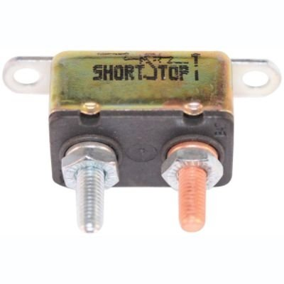 Quality!!! Bussmann Short Stop Circuit Breaker 30A Metal In Line Brket Type-1 12V (Bp/Cbc-30Hb-Rp), Fast Shipping!