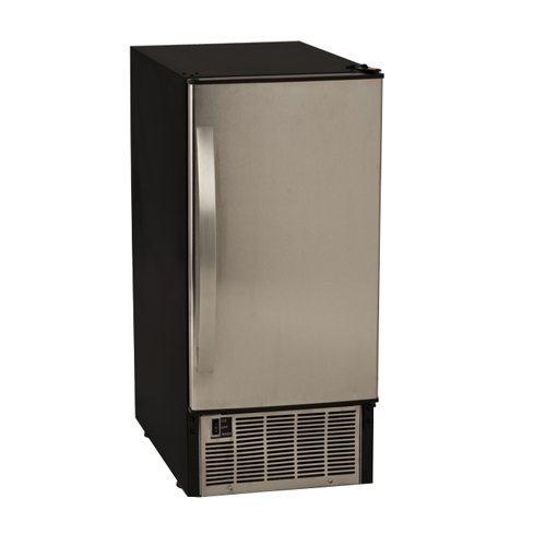 EdgeStar 45 Lb. Undercounter Clear Ice Maker - Stainless Steel (Subzero Refrigerator Handles compare prices)