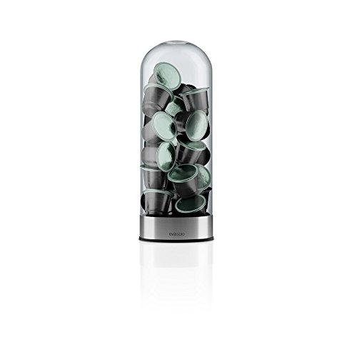 eva-solo-501101-kaffeekapselspender-fur-25-nespresso-kapseln-transparent-silber-matt