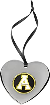 App State Heart Ornament