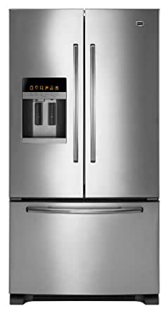 Maytag MFI2665XEM Ice2O 25.5 Cu. Ft. Stainless Steel French Door Refrigerator - Energy Star