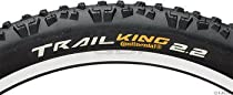 Continental Trail King 2.2 Protection Tire - 26 x 2.2 Black/Black Skinwall Foldable + ProTection