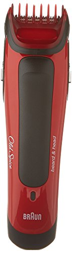 Old Spice Beard & Head Trimmer, powered by Braun