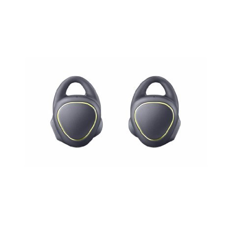 Samsung Galaxy Gear IconX SM-R150 Icon X Wearable Fitness Activity Tracker 4GB Bluetooth Cord-Free Earbuds Earphones (International Version) (Black)