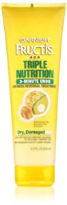 Garnier Fructis Triple Nutrition 3 Minute Undo Dryness Reversal Treatment, 8.50 Fluid Ounce