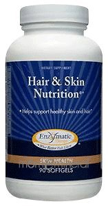 Hair & Skin Nutrition 90 gels by Enzymatic Therapy