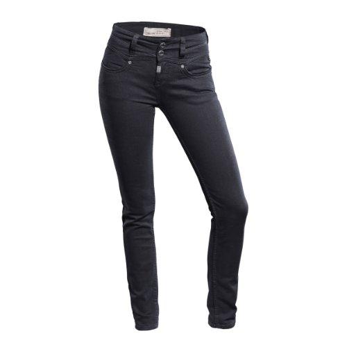 315B0il0MeL. SL500  Get billig  Timezone Damen Jeans Hoher Bund, Bella Body slim 16 5244, Gr. 27/32, Schwarz (black 999)