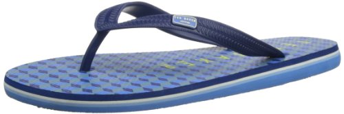 Ted Baker Mens Flyxx Thong Sandals TBM1674 Dark Blue 9 UK, 43 EU