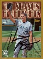 Kevin Brown Florida Marlins 1997 Topps Season Highlights Autographed Hand Signed... by Hall+of+Fame+Memorabilia