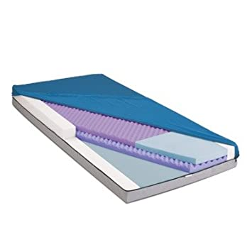Medline MSCADVPE4280F Advantage Select PE Mattresses, Fire Barrier, 42X80X6.75