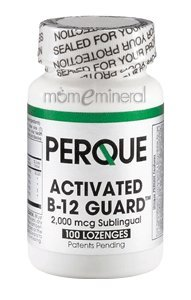 Activated B-12 Guard 2000 mcg 100 Lozenges by Perque