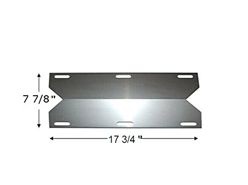 Replacement Stainless Steel Heat Plate Ffor Jenn-air and Nexgrill Gas Grill Models