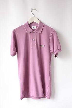 Lacoste Men's L1212 Original Polo Shirt, Lilac, Small (Manufacturer Size 3)