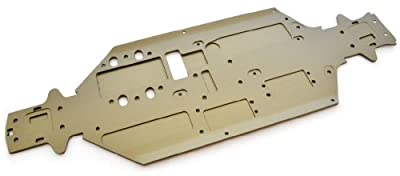 Associated RC8.2e Factory Team *CHASSIS* Gold Main Plate CNC 3MM 89476 RC8 RS