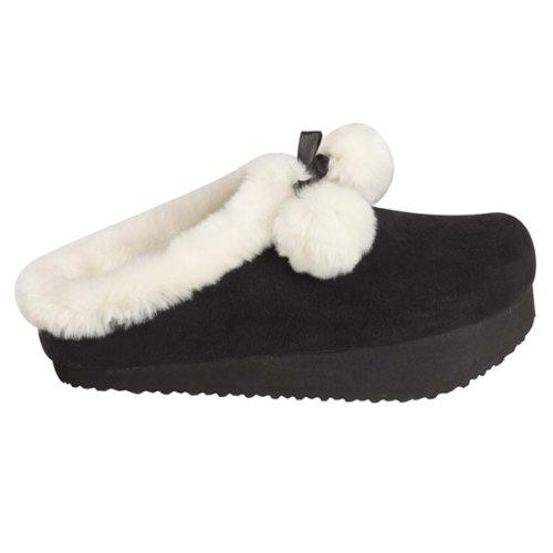 sveltesse-chaussons-fourres-minceur-et-jambes-lourdes-36-noir