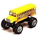 """Monster School Bus: Die Cast Yellow School Bus Large 5"""" Long with Monster Wheels! by International"""