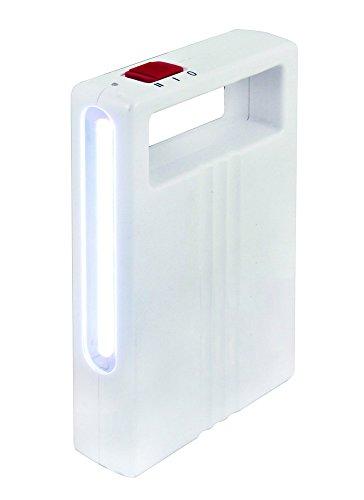 Velamp IR200 Lampe de Secours Portable Rechargeable LED Cob 250 Lumen Anti Black-Out 3 W Blanc
