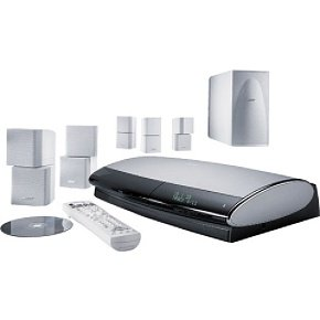 Bose Lifestyle 38 White DVD Home Entertainment