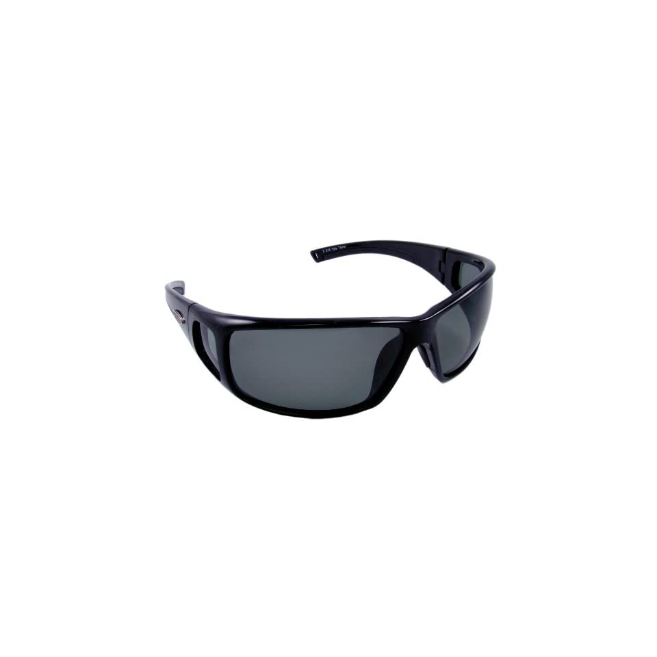 228337528d Sea Striker Tide Tamer Polarized Sunglasses with Black Frame and Grey