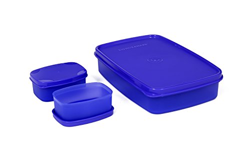 Signoraware Compact Lunch Box, 850ml, Violet