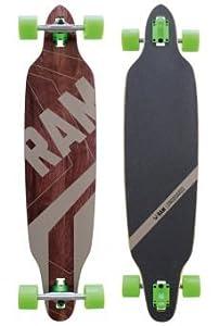 RAM FR2.0 Longboard schwarz/braun 2015