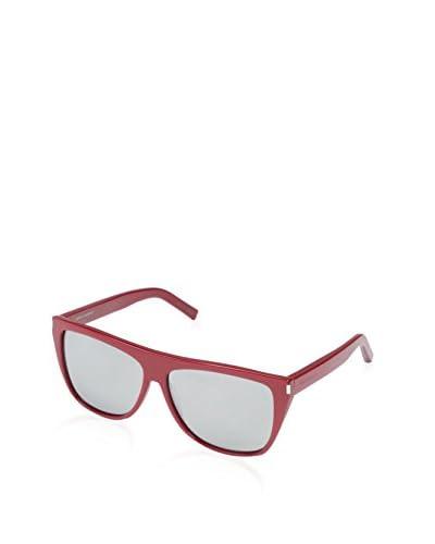 Saint Laurent Women's SL1 Sunglasses, Red