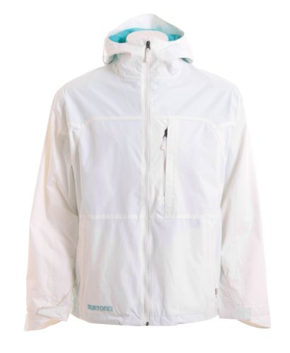 Burton Launch Snowboard Jacket Bright White Mens Sz XL