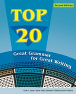 Top 20: Great Grammar for Great Writing, 2nd Edition Front Cover