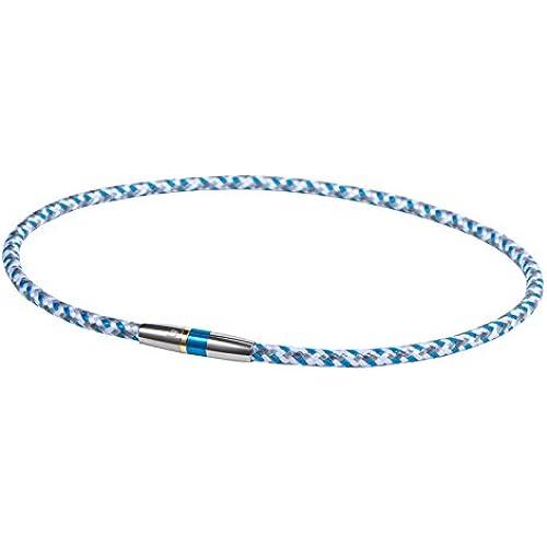 화이텐(phiten) RAKUWA넥X50 하이 엔드III 블루 50cm 0211TG475253