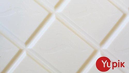 Yupik White Chocolate Block, 1Kg
