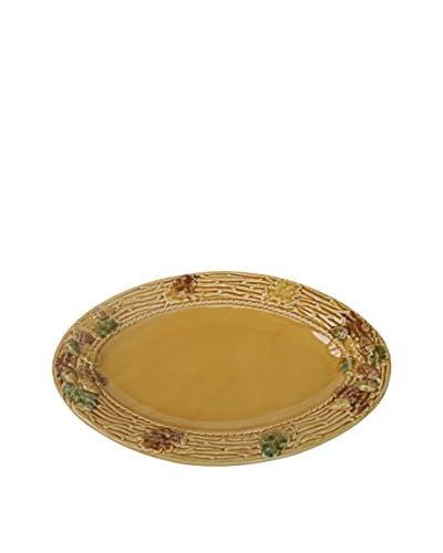 CE Cory Acorn Oval Platter, Multi