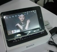 MID 7 inch Android 2.2 VIA8650 ePad Tablet PC 3.0MP Camera, Supports External 3G Modem+WiFi+RJ45+Two Point Touch Screen+Flash 10.1