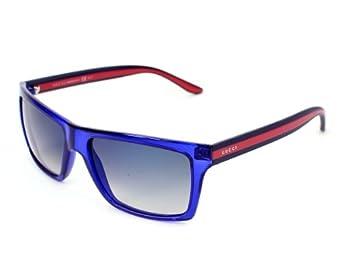 Amazon.com: Gucci Sunglasses GG 1013 /S CLSDK Acetate plastic Blue