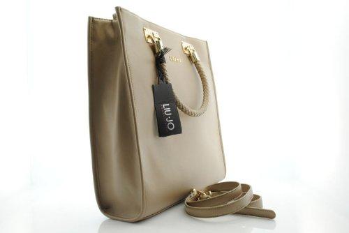 borsa liu jo modello Anna SHOPPING VERTICALE GRANDE colore MALTO coll. 2013 059b453e43d