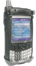 Speck SkinTight Rubberized Case & Holster for Treo 700, 700w - Black