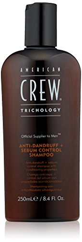 American Crew, Shampoo anti-forfora e sebo-regolatore per Uomo, 250 ml