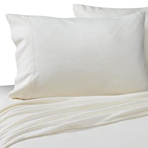 Amazon.com: Microloft Sheet Set- Cream, Queen: Home & Kitchen