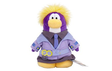 Buy Low Price Jakks Pacific Disney Club Penguin 6.5 Inch Series 10 Plush Figure Dot Includes Coin with Code! (B004ATUNH2)