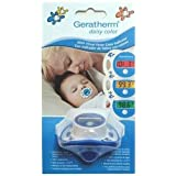 THERMOMETER PACIFIER DAISY CLR ~ R G MEDICALISES