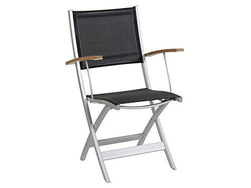 URSA MINOT Garten Stuhl Alu Schwarz jetzt bestellen
